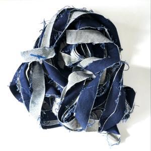 デニムジーンズリボンヤーン 100g|guild-yarn