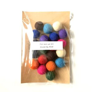 フェルトボール20個セット H 18〜20mm|guild-yarn