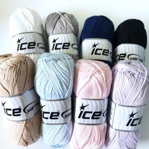 ICE Yarns ベビー ギザコットン毛糸|guild-yarn