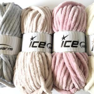 ICE Yarns シェニール スーパーバルキー毛糸|guild-yarn