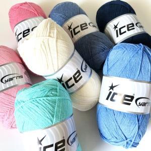 ICE Yarns ナチュラルコットンエアー毛糸|guild-yarn
