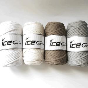 ICE Yarns ナチュラルコットンジャンボ毛糸|guild-yarn