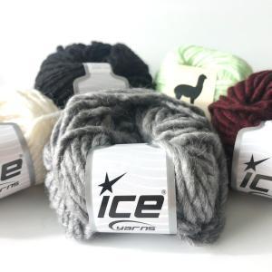 ICE Yarns ペルーアルパカ バルキー毛糸|guild-yarn