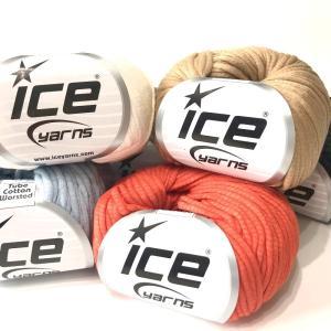 ICE Yarns チューブ コットン毛糸|guild-yarn