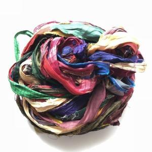 リサイクルサリーリボン Bahama|guild-yarn