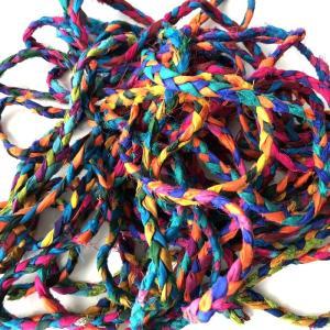 リサイクルサリーリボン ブレード 100g|guild-yarn