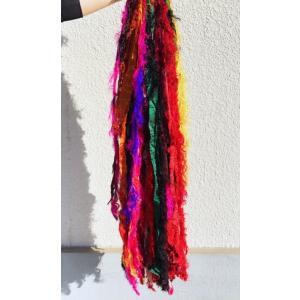 リサイクルサリーリボン fluffy 15本束|guild-yarn