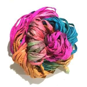 リサイクルサリーリボン Jaipur|guild-yarn