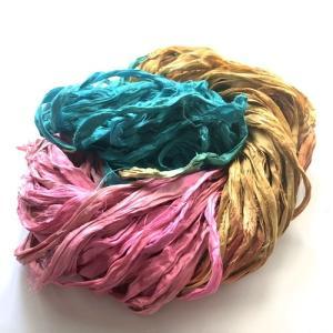 リサイクルサリーリボン Jaipur-sweet|guild-yarn