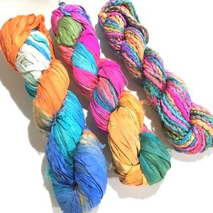 リサイクルサリーリボン Jaipur|guild-yarn|04