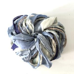 リサイクルサリーリボン Jeans|guild-yarn