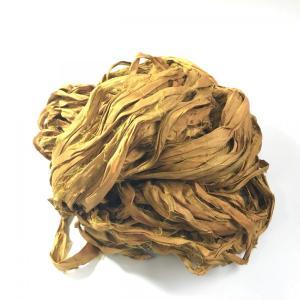 リサイクルサリーリボン Khaki|guild-yarn