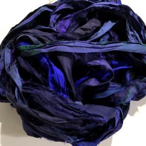 リサイクルサリーリボン Midnight|guild-yarn