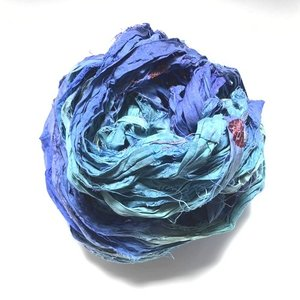 リサイクルサリーリボン Milkyway|guild-yarn