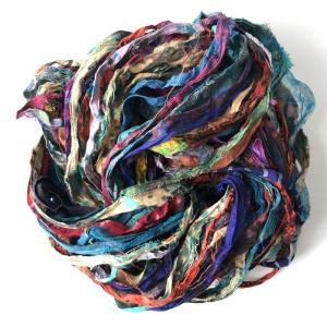 リサイクルサリーリボン Pattern タイダイ|guild-yarn