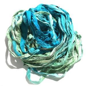 リサイクルサリーリボン Rain|guild-yarn
