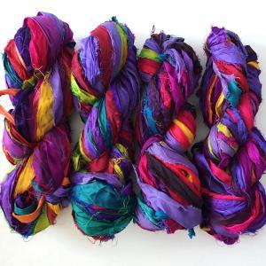 リサイクルサリーリボン Viola|guild-yarn