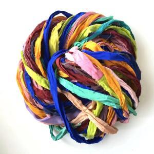 リサイクルサリーリボン vivid|guild-yarn