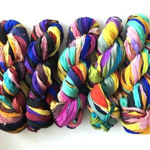 リサイクルサリーリボン vivid|guild-yarn|02