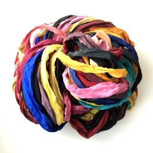 リサイクルサリーリボン vivid|guild-yarn|04