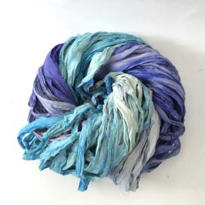 リサイクルサリーリボン water|guild-yarn