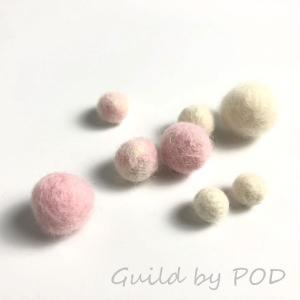 羊毛フェルト用 超極太メリノウール ミックスカラー5色セット|guild-yarn|03