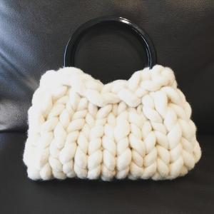 超極太メリノウール毛糸-バルキー アイボリー 1kg 大玉|guild-yarn|05