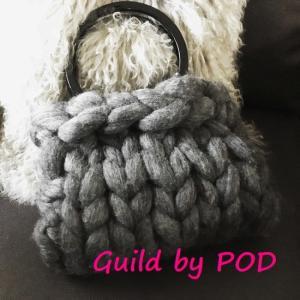 超極太メリノウール毛糸-バルキー アイボリー 1kg 大玉|guild-yarn|07