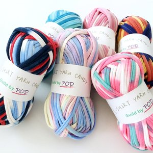 Tシャツヤーン CANDY 100g|guild-yarn