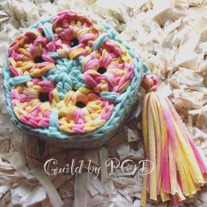 Tシャツヤーン CANDY 100g|guild-yarn|13