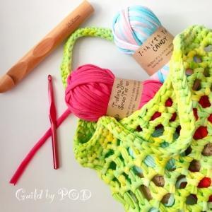 Tシャツヤーン CANDY 100g|guild-yarn|14
