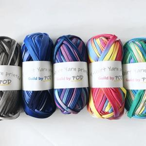 Tシャツヤーン プリントタイダイ 100g guild-yarn