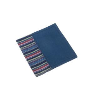 ・サイズ: 約10.5cmx10.5cm   ・素材 : 綿   ・縫製 : 日本  ・表面 : 民...