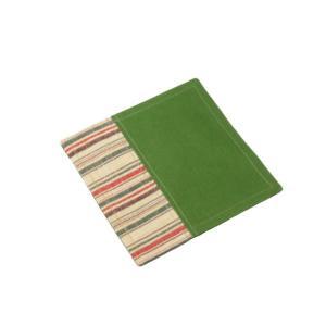 ・サイズ: 約10.5cmx10.5cm   ・素材 : 綿   ・縫製 : 日本  ・表面 : 会...
