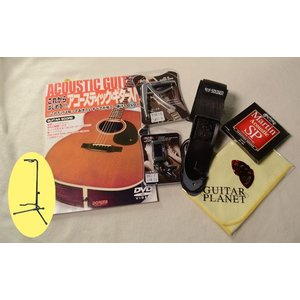 DVD教則本付 | アコースティックギター入門セット!!|guitarplanet