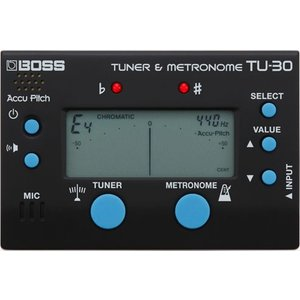 BOSS TU-30 Tuner & Metronome | チューナー&メトロノーム|guitarplanet