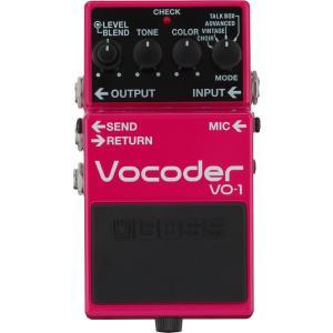 BOSS VO-1 Vocoder 《エフェクター》|guitarplanet
