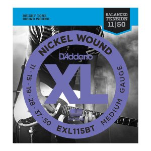 D'Addario 11-50 EXL115BT Nickel Wound Balanced Tension Medium|guitarplanet