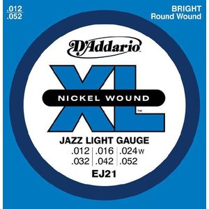 D'Addario 12-52 EJ21 Jazz Light|guitarplanet