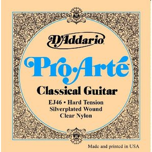 D'Addario 28-44 EJ46 Pro Arte Hard Tension|guitarplanet