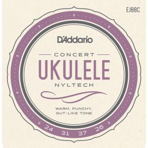 D'Addario EJ88C Nyltech コンサートウクレレ弦セット