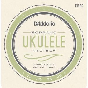 D'Addario EJ88S Nyltech ソプラノウクレレ弦セット