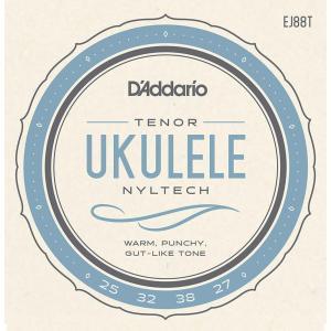 D'Addario EJ88T Nyltech テナーウクレレ弦セット