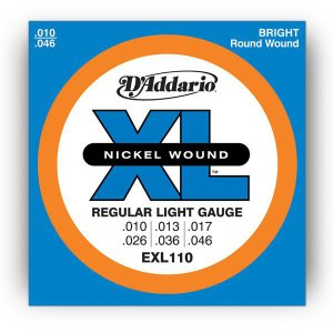 D'Addario 10-46 EXL110 Regular Light|guitarplanet