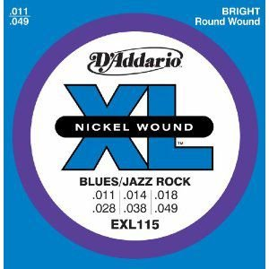 D'Addario 11-49 EXL115 Blues/Jazz Rock|guitarplanet