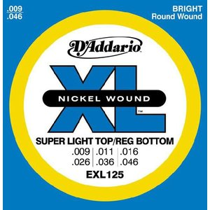 D'Addario 9-46 EXL125 Super Light Top/Regular Bottom|guitarplanet