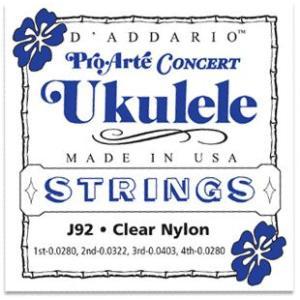 D'Addario J92 Pro Arte コンサートウクレレ弦セット