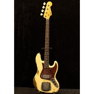 Fender Custom Shop 1964 Jazz Bass Heavy Relic -Faded Vintage White-《ベース》|guitarplanet