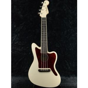 Fender Fullerton Jazzmaster Uke -Olympic White- コンサートウクレレ《ウクレレ》|guitarplanet