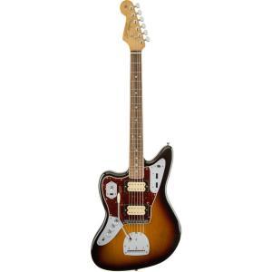 【ERNIE BALL4点セット付】 Fender Mexico Kurt Cobain Jaguar N.O.S Left Hand レフティ 3カラーサンバースト《エレキギター》|guitarplanet